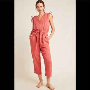 Anthropologie Serena Woven Jumpsuit NWT